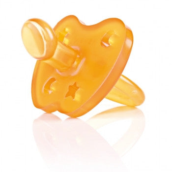 Hevea 100% Natural Rubber Pacifier - Orthodontic (2 Pack)