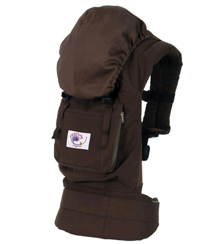Ergo Baby Organic Carrier - Chocolate - STORE CLOSING CLEARANCE SALE
