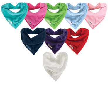 Silly Billyz Cotton Toweling Bandana Bib With Waterproof Backing