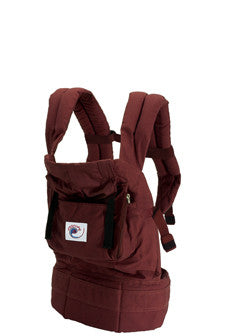 Ergo Baby Carrier - Cranberry - STORE CLOSING CLEARANCE SALE