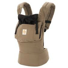 Ergo Baby Carrier Original - Aussie Khaki - STORE CLOSING CLEARANCE SALE