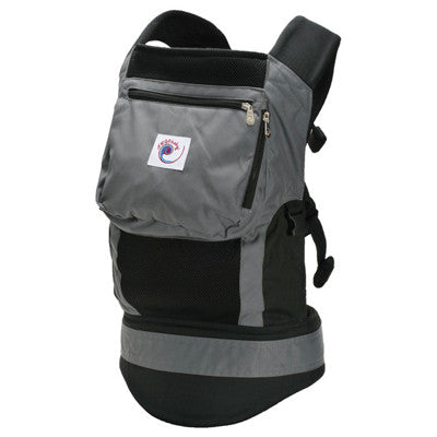 ERGO Baby Charcoal Black Performance Carrier - STORE CLOSING CLEARANCE SALE