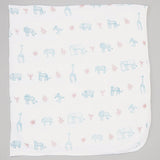 Organic Cotton Muslin Fitted Crib Sheet