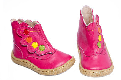 Livie & Luca Shoes - Holland Boot Fuchsia