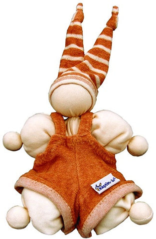 Keptin-Jr Organic Cuddle Pants Cozy Doll