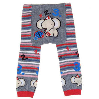 Japanese Baby Leggings - Elephant