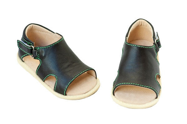 Livie & Luca Shoes - Barcelona Green Stitching