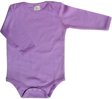 Organic Cotton Onesie by Lukeeno in Lilac
