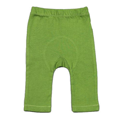 Organic Cotton Flexi Pants - Olive (For Newborns)
