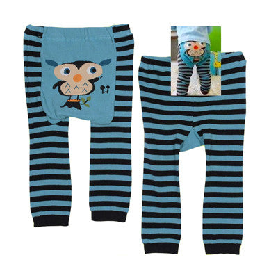 Japanese Baby Leggings - Owl