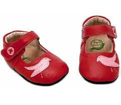 Livie & Luca Baby Shoes - Pio Pio Red