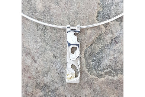 Rockpool Short Rectangular Pendant