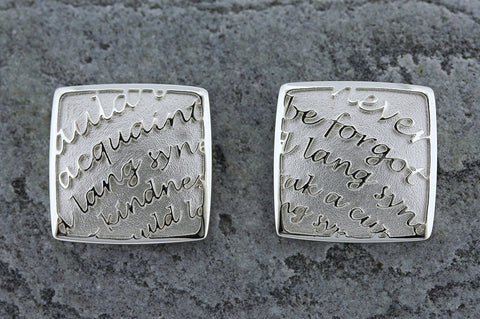 Burns Square Cufflinks