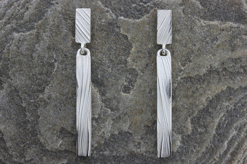 Deeside Long Drop Earrings