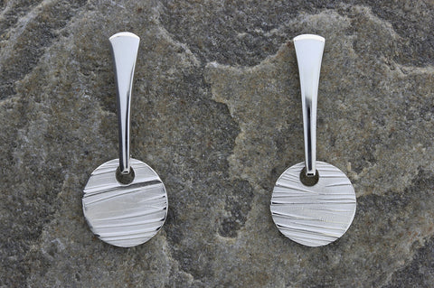 Deeside Round Drop Earrings