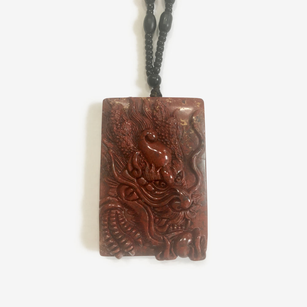Red Dragon Amulet - shifuyanlei.myshopify.com