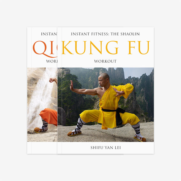 Shaolin Workout Two Book Bundle – Qigong & Kung Fu