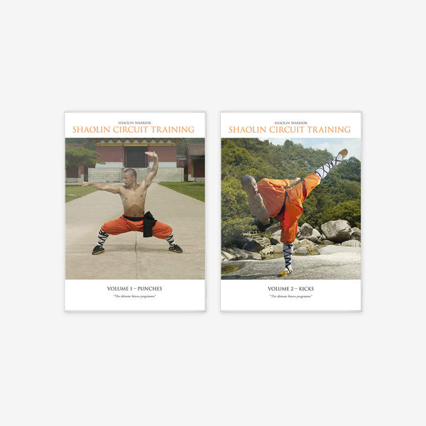 Shaolin Circuit Training – 2 x DVD Bundle
