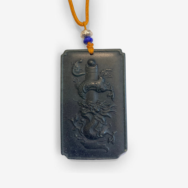 Dragon of Strength –  Jade Amulet - shifuyanlei.myshopify.com