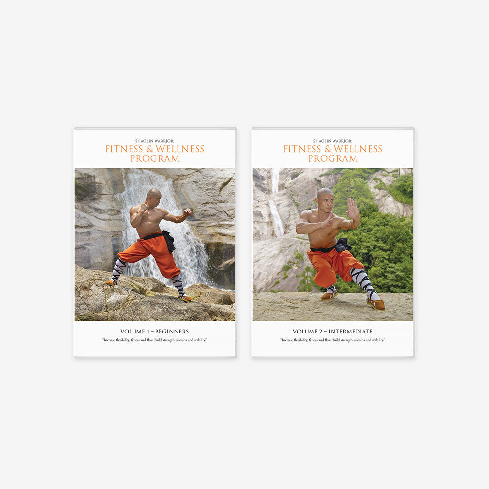 Shaolin Fitness And Wellness Program – 2 x DVD Bundle - shifuyanlei.myshopify.com