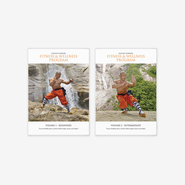 Shaolin Fitness And Wellness Program – 2 x DVD Bundle