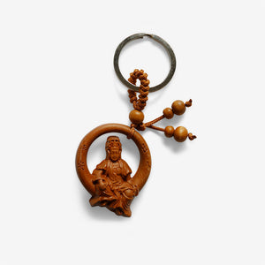 Buddha Of Compassion Key Ring - shifuyanlei.myshopify.com