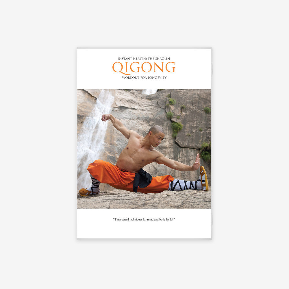 Instant Health: The Shaolin Qigong Workout For Longevity - shifuyanlei.myshopify.com