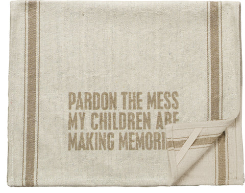 Pardon The Mess Heavy-Duty Dish Towel - Holt Bros. Mercantile