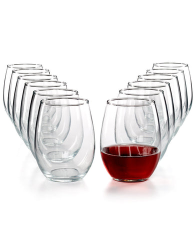 Open Stock Barware:  Stemless Wine Glasses - Holt Bros. Mercantile