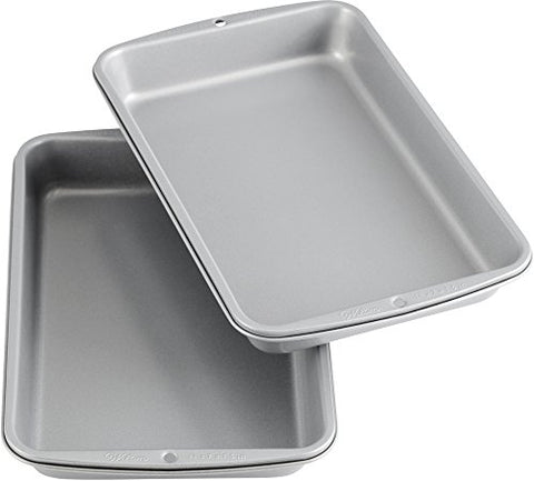 Non-Stick Biscuit & Brownie Pan (2-Pack)