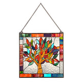 Stained Glass Window Panel:  Tree Of Life - Holt Bros. Mercantile  - 2