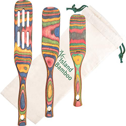 Island Bamboo Rainbow Spurtle Set