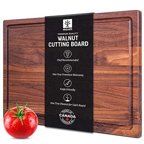 Large Wooden Walnut Cutting Board