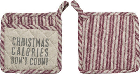 Christmas Calories Hot Pad - Holt Bros. Mercantile