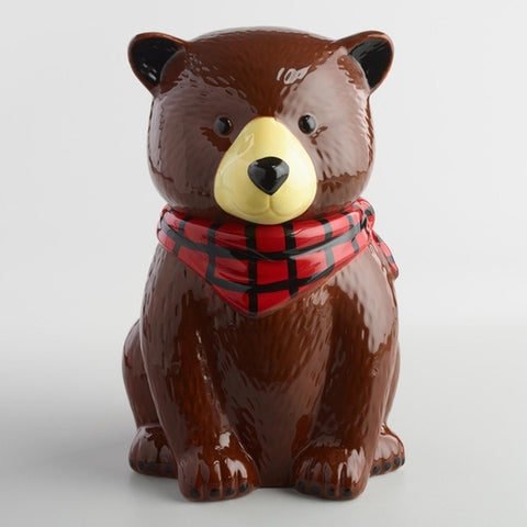 Bear Cookie Jar - Holt Bros. Mercantile  - 1