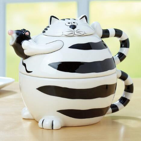 Tea For One: Cat Teapot