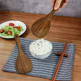 Wooded Rice Paddle Set