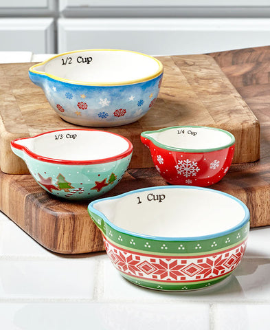 Holiday Measuring Cups - Holt Bros. Mercantile