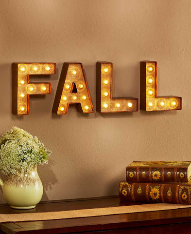 Fall Marquee Sign - Holt Bros. Mercantile