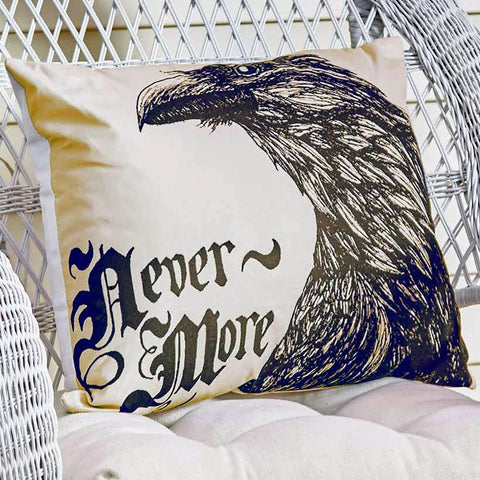 The Raven Accent Pillow