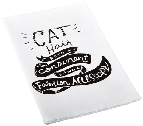 Cat Hair Tea Towel - Holt Bros. Mercantile