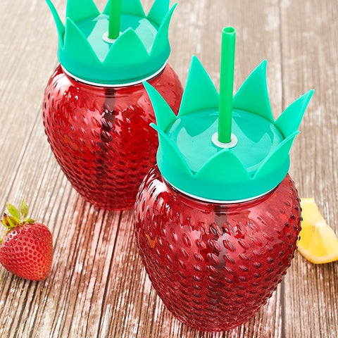 Strawberry Tumblers Set
