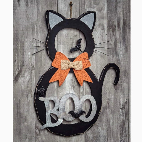 Halloween Cat Wall Accent