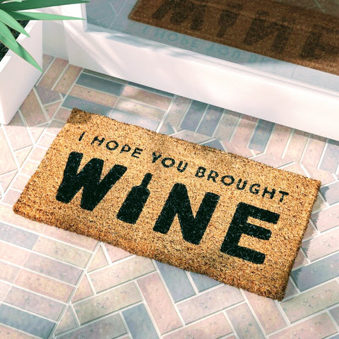 Brought Wine? Doormat
