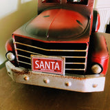 Farm Country Vintage Metal Red Truck