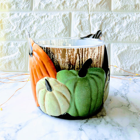 Heirloom Pumpkins Candle Holder