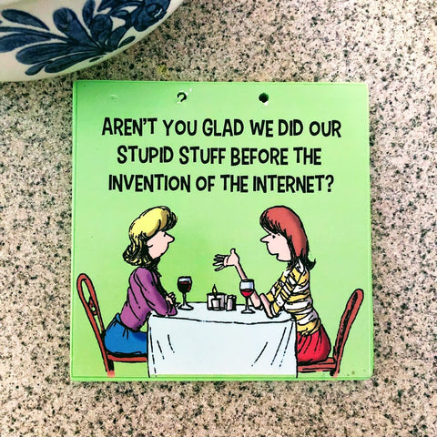 Humorous Kitchen Trivets
