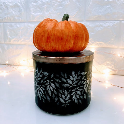 Heirloom Pumpkin Candle Lid Magnet