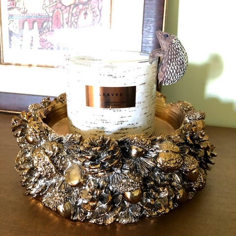 Woodland Hedgehog Candle Hugger