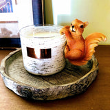 Woodland Squirrel Candle Huggers